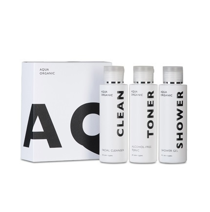 Aqua Organic Travel Set